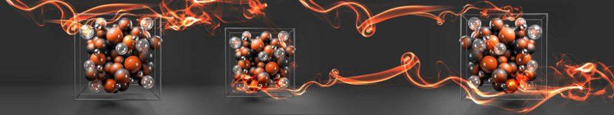 Изображение для стеклянного кухонного фартука, скинали: абстракция, fartux1127