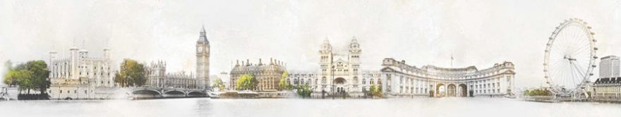 Изображение для стеклянного кухонного фартука, скинали: город, архитектура, лондон, fartux1151