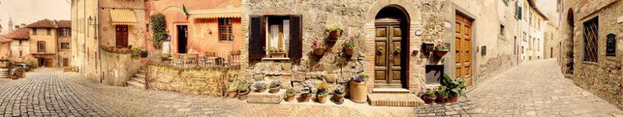 Изображение для стеклянного кухонного фартука, скинали: город, архитектура, улица, fartux1202
