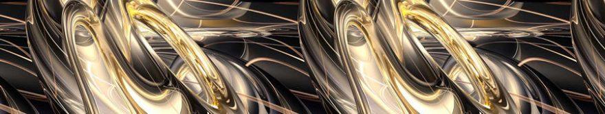 Изображение для стеклянного кухонного фартука, скинали: абстракция, fartux1204