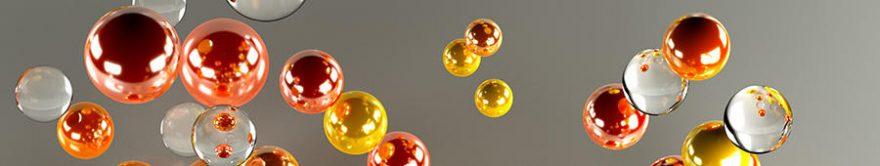Изображение для стеклянного кухонного фартука, скинали: абстракция, fartux1223