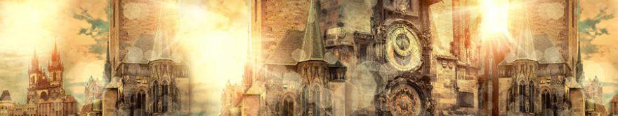 Изображение для стеклянного кухонного фартука, скинали: архитектура, башня, fartux1259