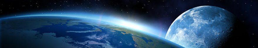 Изображение для стеклянного кухонного фартука, скинали: космос, планеты, fartux1292