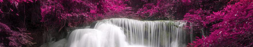 Изображение для стеклянного кухонного фартука, скинали: водопад, fartux1336