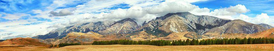 Изображение для стеклянного кухонного фартука, скинали: природа, горы, облака, fartux1340