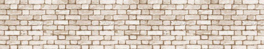 Изображение для стеклянного кухонного фартука, скинали: текстура, кирпич, fartux1371