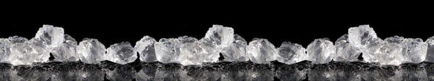 Изображение для стеклянного кухонного фартука, скинали: лед, fartux1414