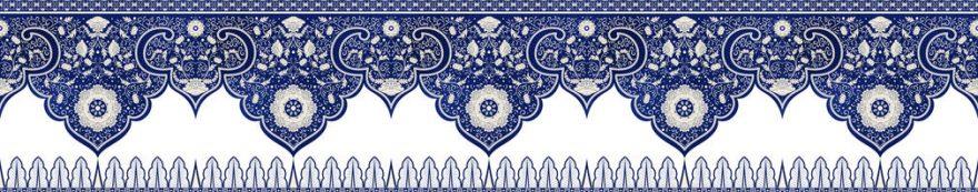 Изображение для стеклянного кухонного фартука, скинали: орнамент, fartux1545