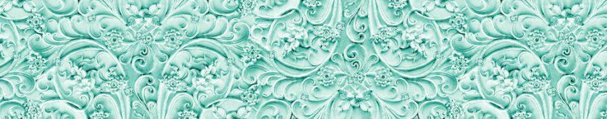 Изображение для стеклянного кухонного фартука, скинали: орнамент, fartux1550
