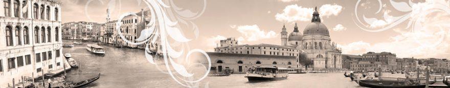 Изображение для стеклянного кухонного фартука, скинали: город, архитектура, италия, fartux1551