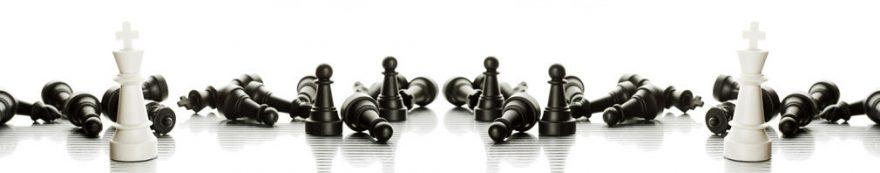 Изображение для стеклянного кухонного фартука, скинали: шахматы, fartux1627