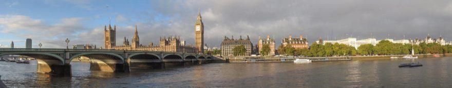 Изображение для стеклянного кухонного фартука, скинали: город, мост, архитектура, лондон, fartux1662