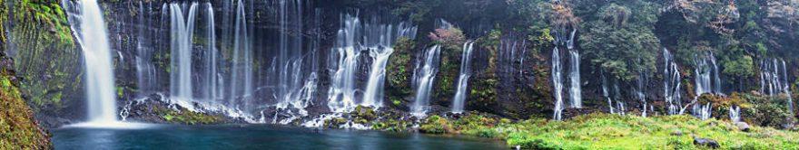 Изображение для стеклянного кухонного фартука, скинали: природа, водопад, fartux1685