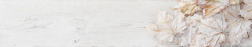 Изображение для стеклянного кухонного фартука, скинали: листья, текстура, fartux1703