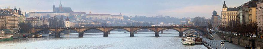 Изображение для стеклянного кухонного фартука, скинали: город, мост, архитектура, fartux1781