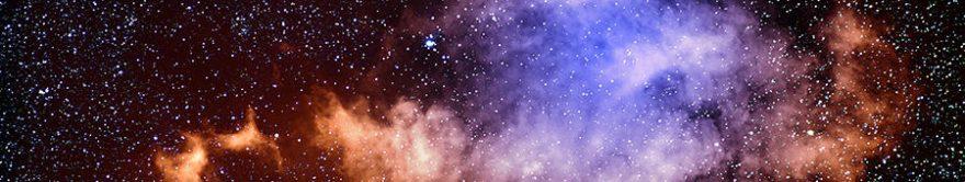 Изображение для стеклянного кухонного фартука, скинали: небо, космос, fartux1783
