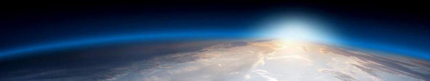 Изображение для стеклянного кухонного фартука, скинали: космос, fartux1788