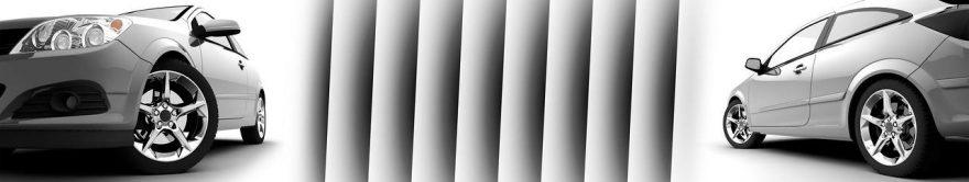 Изображение для стеклянного кухонного фартука, скинали: коллаж, машины, fartux1822