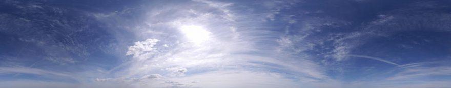 Изображение для стеклянного кухонного фартука, скинали: небо, fartux520