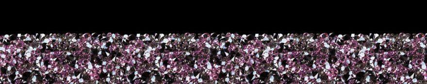 Изображение для стеклянного кухонного фартука, скинали: текстура, бриллиант, fartux530