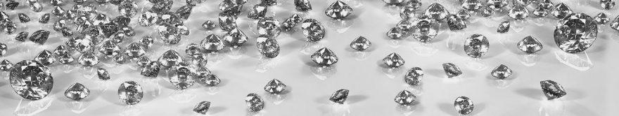 Изображение для стеклянного кухонного фартука, скинали: бриллиант, fartux547