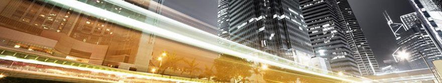 Изображение для стеклянного кухонного фартука, скинали: город, небоскребы, fartux631