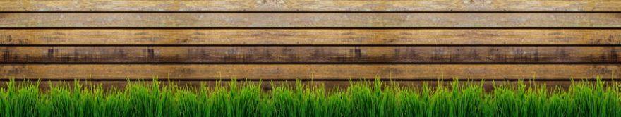 Изображение для стеклянного кухонного фартука, скинали: трава, текстура, fartux668