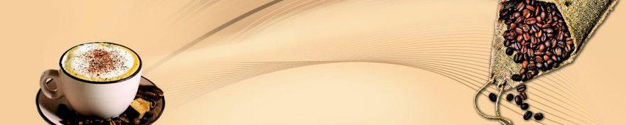Изображение для стеклянного кухонного фартука, скинали: кофе, кружка, fartux685