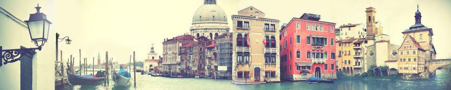 Изображение для стеклянного кухонного фартука, скинали: город, архитектура, италия, fartux694