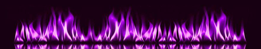 Изображение для стеклянного кухонного фартука, скинали: огонь, абстракция, fartux742