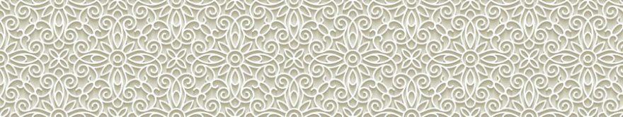 Изображение для стеклянного кухонного фартука, скинали: орнамент, fartux756