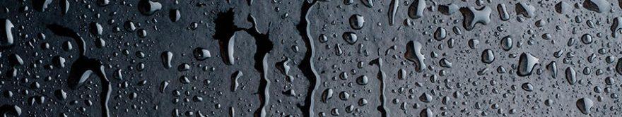 Изображение для стеклянного кухонного фартука, скинали: капли, fartux769