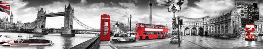 Изображение для стеклянного кухонного фартука, скинали: город, архитектура, лондон, fartux783