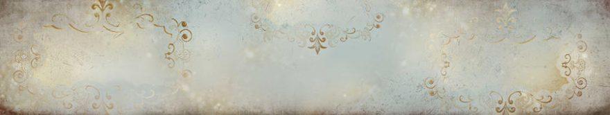 Изображение для стеклянного кухонного фартука, скинали: орнамент, fartux862