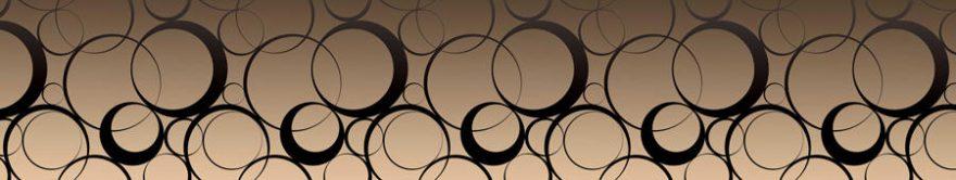 Изображение для стеклянного кухонного фартука, скинали: орнамент, fartux867