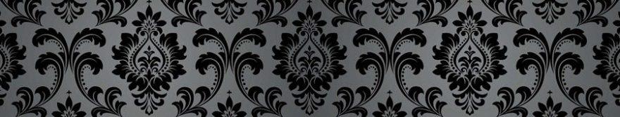 Изображение для стеклянного кухонного фартука, скинали: орнамент, fartux891