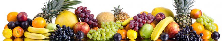 Изображение для стеклянного кухонного фартука, скинали: фрукты, fartux918