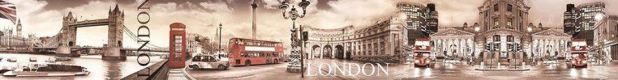 Изображение для стеклянного кухонного фартука, скинали: город, архитектура, лондон, fartux951