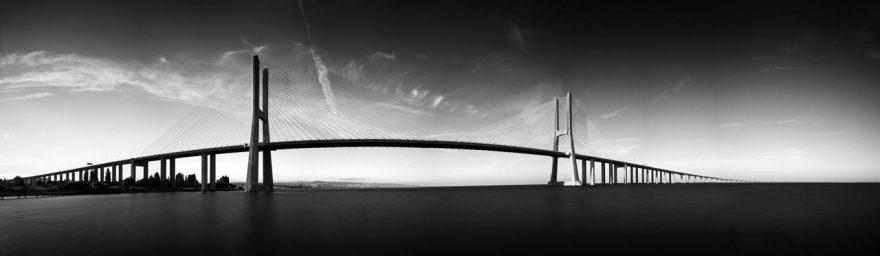 Изображение для стеклянного кухонного фартука, скинали: мост, fartux999