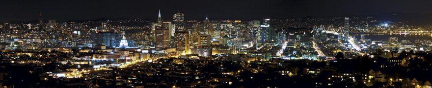 Изображение для стеклянного кухонного фартука, скинали: ночь, город, архитектура, gornoch017