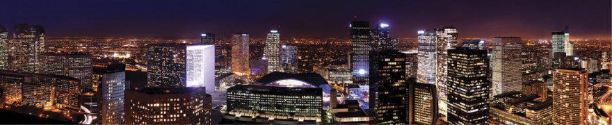 Изображение для стеклянного кухонного фартука, скинали: ночь, город, архитектура, небоскребы, gornoch022
