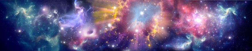 Изображение для стеклянного кухонного фартука, скинали: космос, kosmosi004
