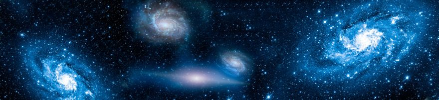Изображение для стеклянного кухонного фартука, скинали: космос, kosmosi005