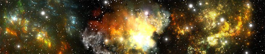 Изображение для стеклянного кухонного фартука, скинали: космос, kosmosi009