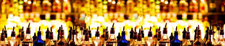 Изображение для стеклянного кухонного фартука, скинали: напитки, бутылка, napitki008