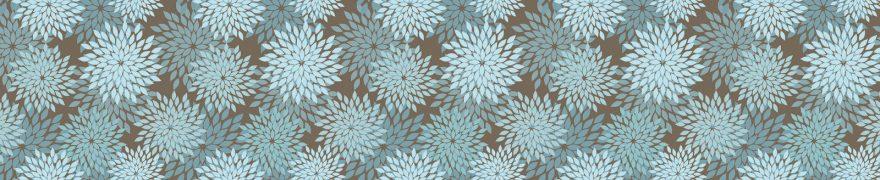 Изображение для стеклянного кухонного фартука, скинали: паттерн, орнамент, patneit019