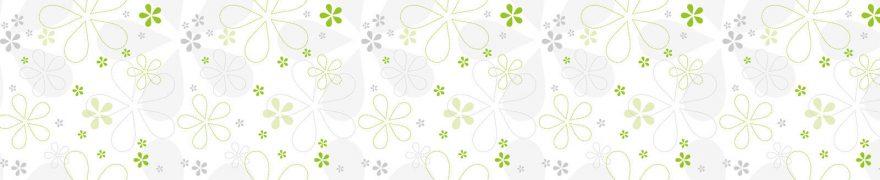 Изображение для стеклянного кухонного фартука, скинали: паттерн, орнамент, patsvet010