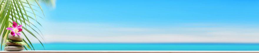 Изображение для стеклянного кухонного фартука, скинали: небо, море, rastcve077