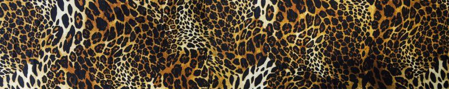 Изображение для стеклянного кухонного фартука, скинали: текстура, леопард, skin198