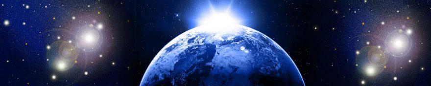 Изображение для стеклянного кухонного фартука, скинали: космос, планеты, skin249